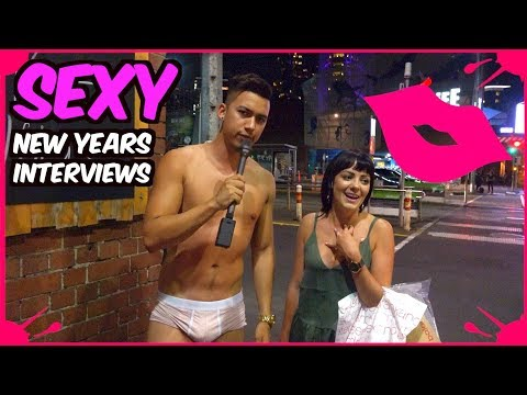 SEXY NEW YEARS EVE INTERVIEWS! w/RedHotPie