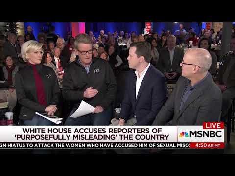 MIka Brzezinski blasts Sarah Huckabee Sanders for attacks on media
