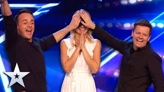Incredible PSYCHIC gets into the Judges' MINDS!   Britain's Got Talent