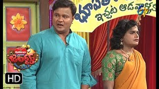 Bullet Bhaskar, Sunami SudhakarPerformance  Jabardasth   4th January 2018   ETV  Telugu