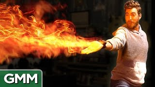 Mini Flamethrower Demo (Real Avatar Firebending)