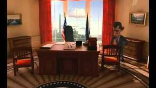 Obama - not stupid new president WITH ENGLISH SUBTITLES