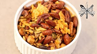 Keto Trail Mix Recipe | Low Carb Healthy Snacks