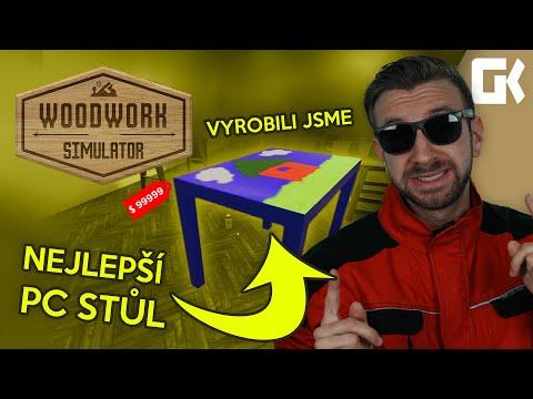 VYROBILI JSME NEJLEPŠÍ PC STŮL! | Woodwork Simulator