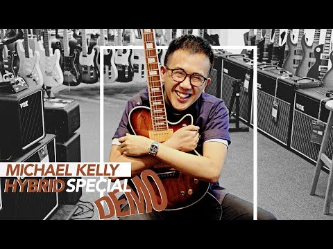 Michael Kelly Hybrid Special: When Electric Meets Acoustic! | GUITAR SOUND DEMO & OVERVIEW