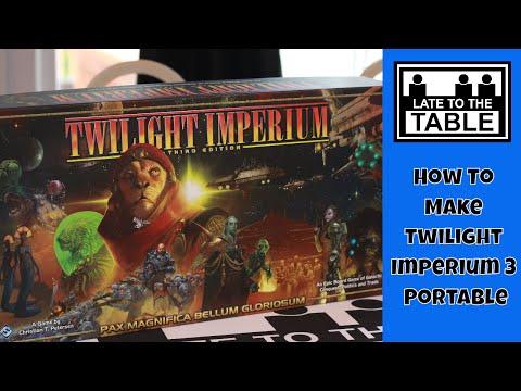 How To Make Twilight Imperium 3 Portable