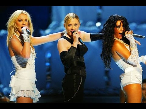 Like a Virgin/Hollywood - Madonna ft. Britney Spears and Christina Aguilera (MTV 2003)
