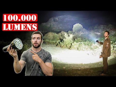 La Linterna Más Potente Del Mundo - 100.000 LUMENS - Imalent MS18