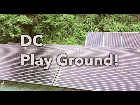 DC  Solar Playground