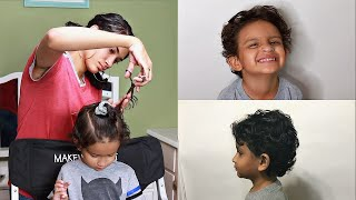 HOW TO CUT TODDLER BOY HAIR