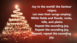 David Archuleta - Joy to the World (Lyrics)
