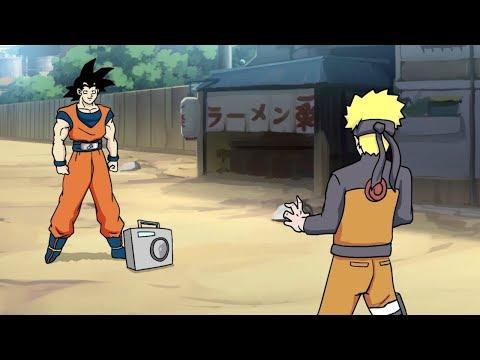 Goku vs. Naruto Rap Battle!