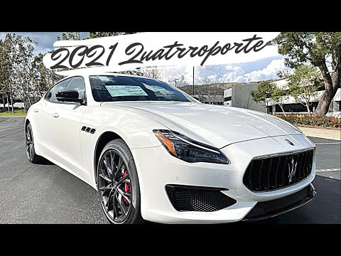 The First Look at 2021 Maserati Quattroporte S!