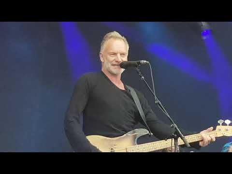 Message in the bottle, Sting My Songs, Kaisaniemi, Helsinki 13.6.2019