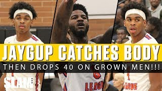 JOSH CHRISTOPHER CATCHES BODY AND GOES OFF FOR 40 IN DREW LEAGUE PLAYOFFS!!!