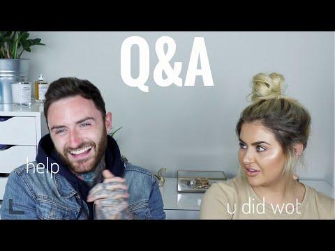 Q&A WITH MY FIANCE | JAMIE GENEVIEVE