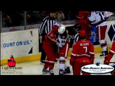 Tyler Bertuzzi vs. Mike Cornell