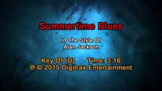 Alan Jackson - Summertime Blues (Backing Track)
