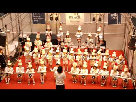 2014年 ショッパーズプラザ横須賀 X'mas キャロリング 聖佳幼稚園