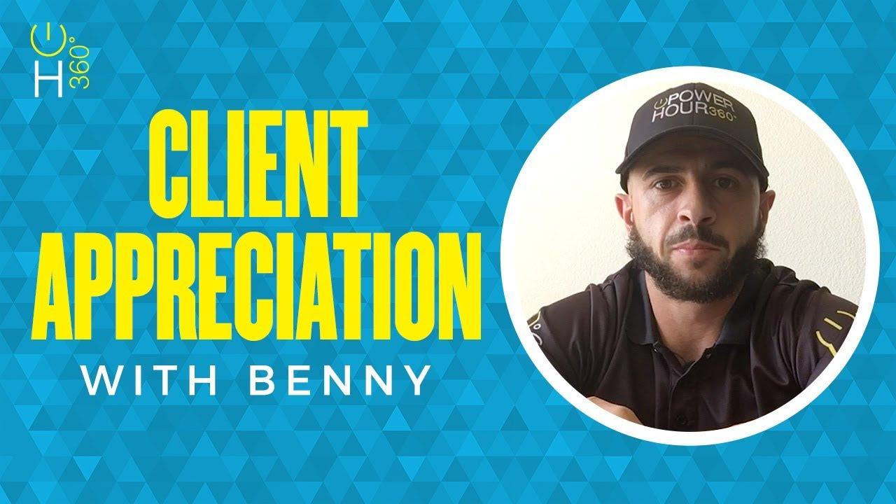 Client Appreciation with Benny