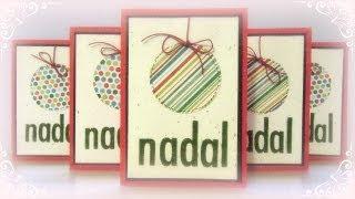 DN8 Cómo hacer tarjetas de Navidad rápidas y fáciles