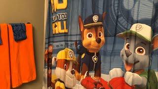 Kids Bathroom Tour Feat Paw Patrol