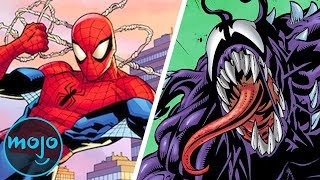Gambar cover Top 10 Powers Venom Has That Spider-Man Doesn't