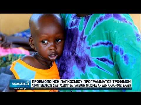 Προειδοποίηση του ΟΗΕ για «βιβλικούς» λιμούς λόγω της πανδημίας του κορονοϊού   22/04/2020   ΕΡΤ