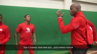 Carl Lewis - Leroy Burrell, University of Houston Sprint Team