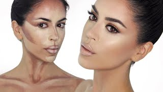 Jennifer Lopez Inspired Look (Κρεμώδες Contouring Βήμα-Βήμα) | Camera Makeup