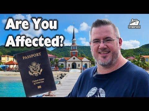 Passport Requirement Change Impacting Cruise Passengers