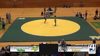 Tippecanoe Valley Wrestling vs Rochester - 1-9-19