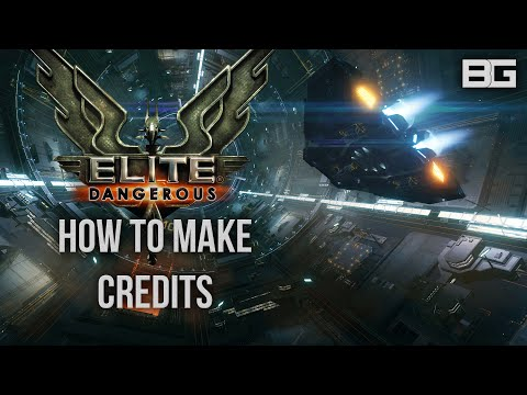 Elite: Dangerous – How to make money/credits – In system trading method