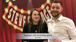 Sophia's 6th birthday party