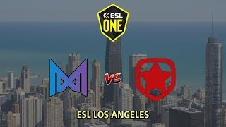 Nigma vs Gambit - ESL One Los Angeles