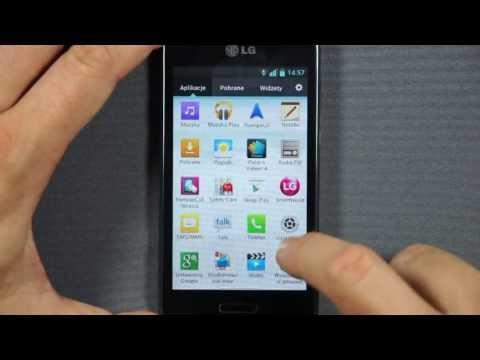 LG E460 (Optimus) Swift L5 II - menu - part 2