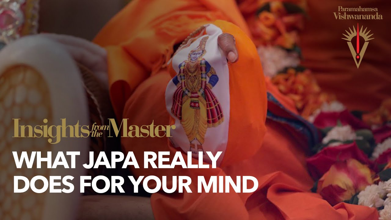 What Japa Really Does for Your Mind | Insights from the Master