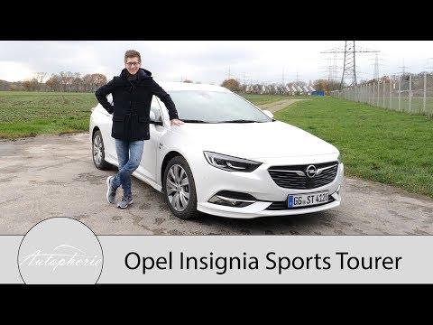 2017 Opel Insignia Sports Tourer 2.0 Turbo 4x4 Fahrbericht / Besser als sein Ruf! - Autophorie