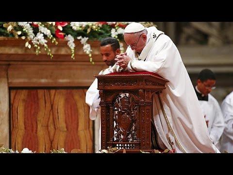 Δρακόντεια μέτρα ασφαλείας στη Θεία Λειτουργία της παραμονής των Χριστουγέννων στο Βατικανό