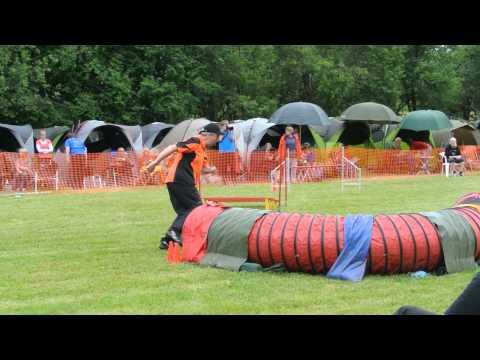 Agility in St.Wendel am 23.05.2015 J1 Large Stefan mit Scotty