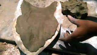 How To Make Eco Friendly Mud / Clay Ganesha Idol With Fiber Mould +91-99722-17106