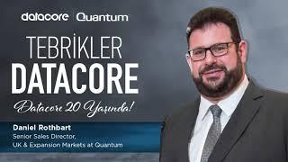 20. yılımızı övgüyle kutlayan Quantum Kıdemli Satış Direktörü Daniel Rothbart'a gönülden teşekkü