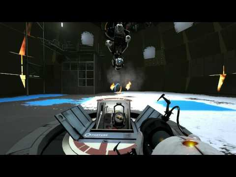 Portal 2 ending and end song (WARNING SPOILERS