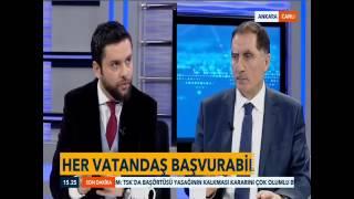 Kamu Başdenetçisi Şeref Malkoç, TVNET Canlı Yayını