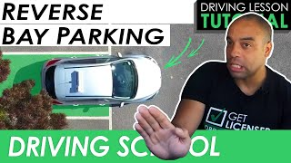 Reverse Bay Parking Manoeuvre Made Easy | Driving Tutorial