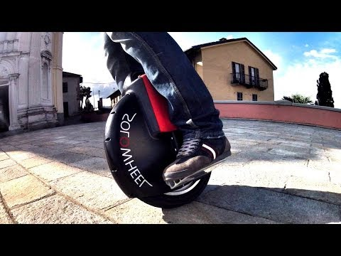 Transport of the future? Monowheel – electric unicycle!