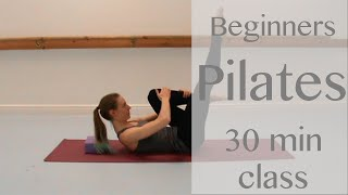30 minute Beginners Pilates Class by Laura Firth