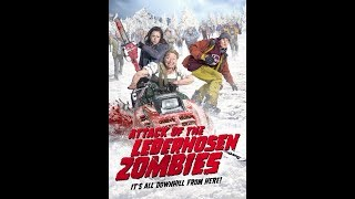 ATTACK OF THE LEDERHOSEN ZOMBIES Trailer (2017) Dominik Hartl Horror Movie HD