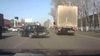 ДТП Катастрофа УЖАС!!не думал что такое возможно Авто в Говно, выпуск №1 NEWv 2013