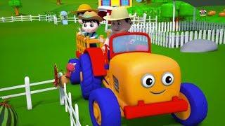 ชาวนาอยู่ในเดล | บทกวีเด็ก | เพลงฟาร์มเด็ก | Farmer in The Dell Kids Rhymes Farm Song